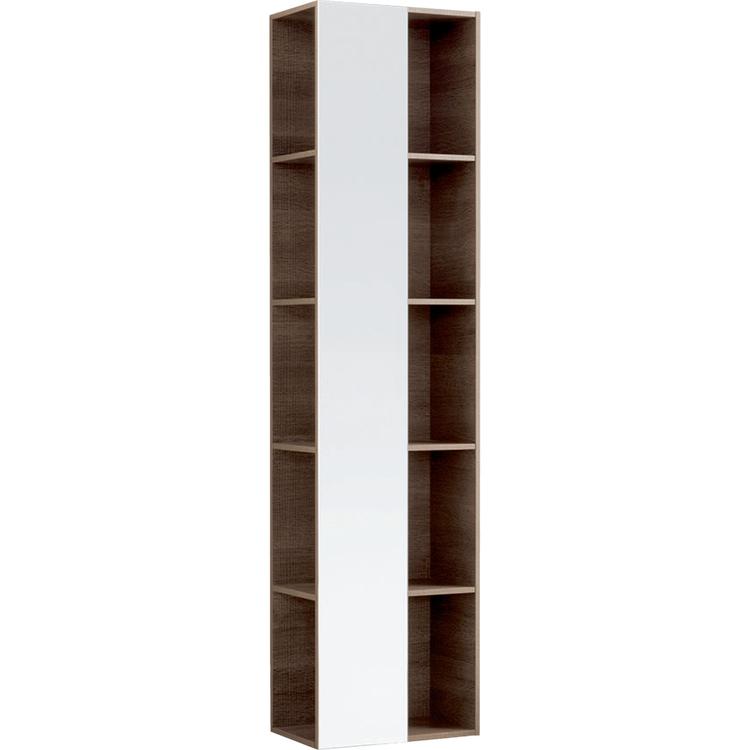 Geberit CITTERIO mobile verticale a colonna, reversibile con specchio, finitura rovere marrone fumè 500.569.JJ.1