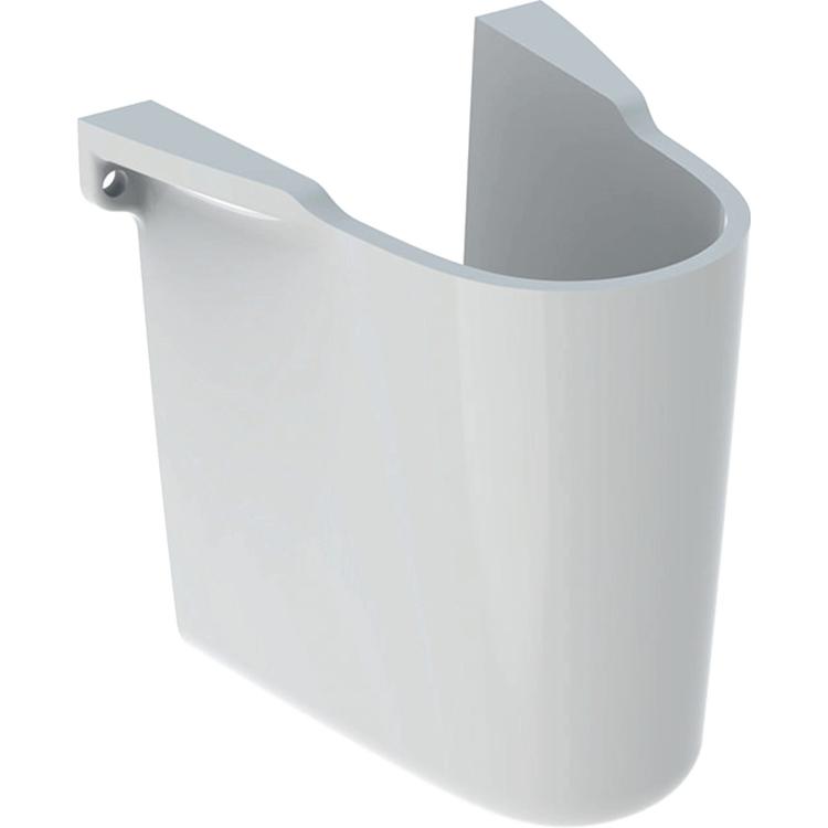 Immagine di Geberit COLIBRI' semicolonna per lavabo, colore bianco finitura lucido 500.872.00.1