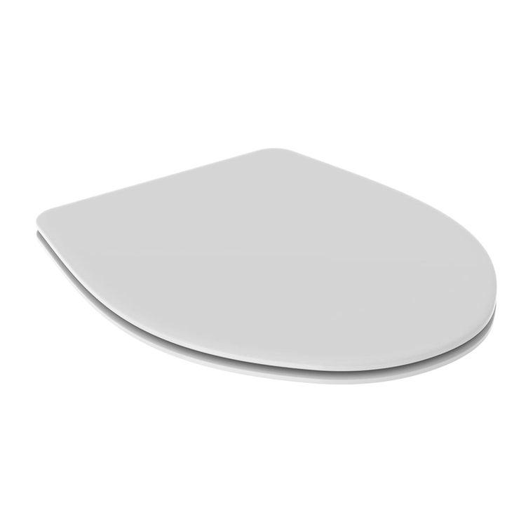 Geberit COLIBRI' sedile con fissaggio dal basso, colore bianco finitura lucido 500.912.00.1