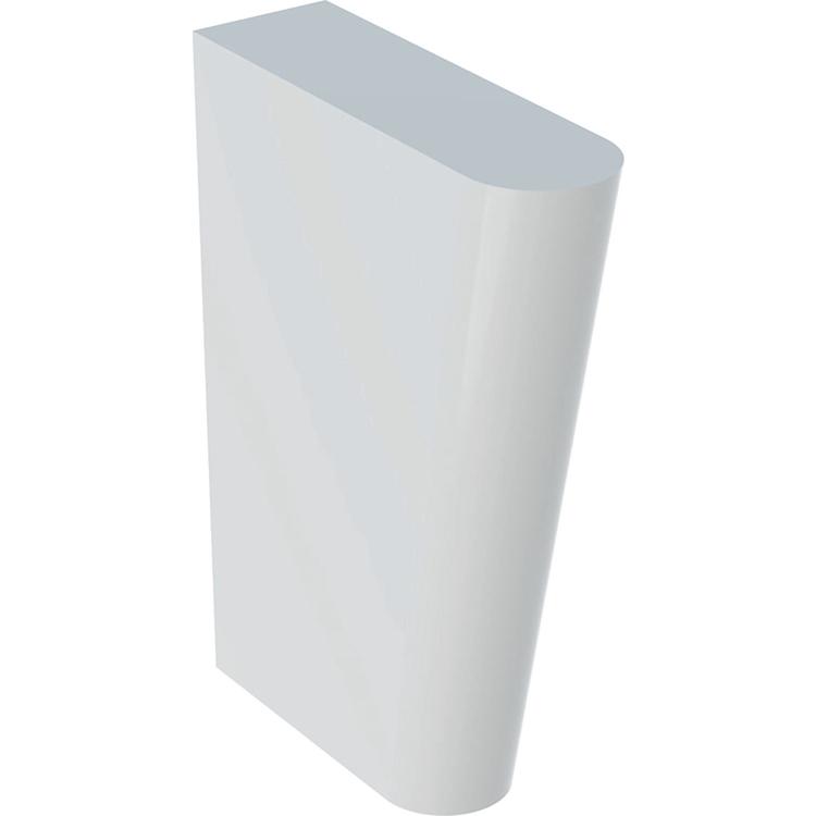 Geberit PUBLICA supporto per lavatoi polivalenti, colore bianco finitura lucido 500.910.00.1