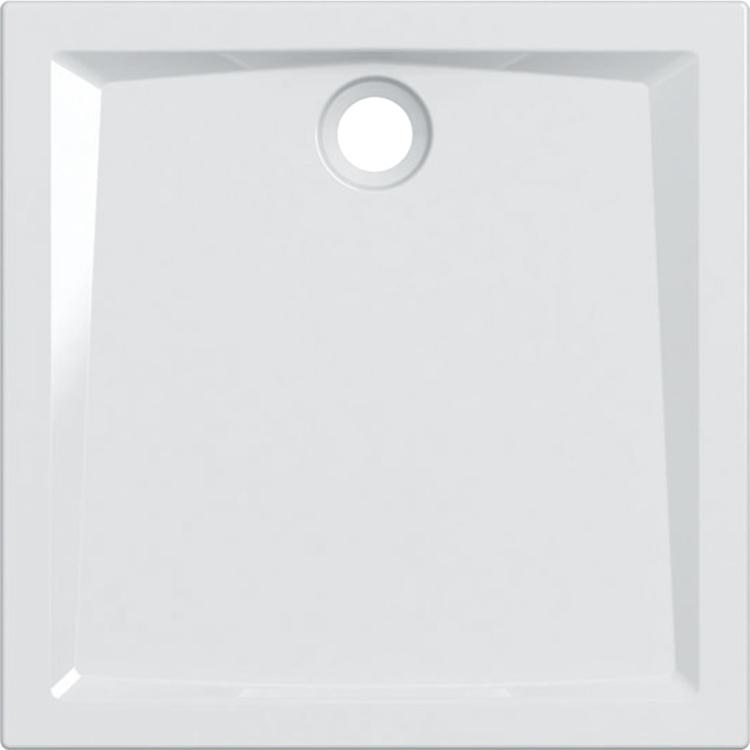 Geberit 60 piatto doccia quadrato 90 cm, colore bianco e finitura lucido 550.029.00.1