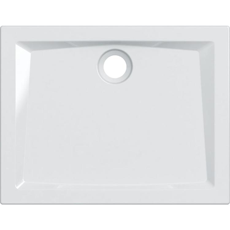 Geberit 60 piatto doccia rettangolare L.90 P.70 cm, colore bianco e finitura lucido 550.053.00.1