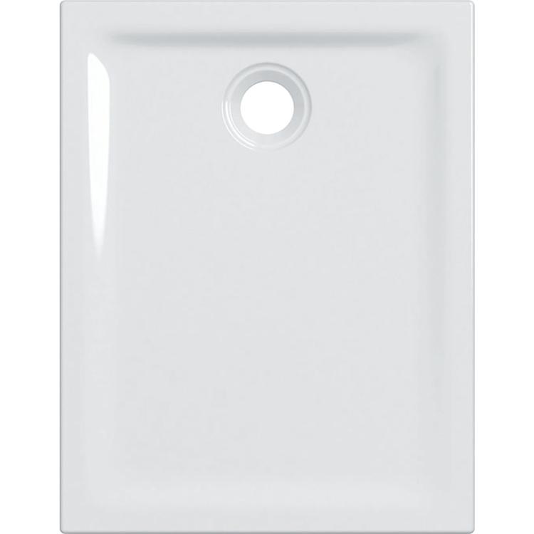 Geberit 45 piatto doccia rettangolare L.70 P.90 cm, colore bianco e finitura lucido 550.062.00.1