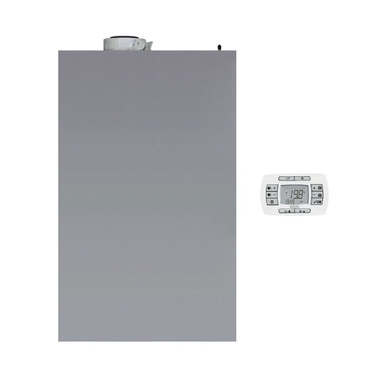 Baxi LUNA IN Plus 26 Caldaia a condensazione murale per riscaldamento e produzione istantanea di ACS da esterno A7736264
