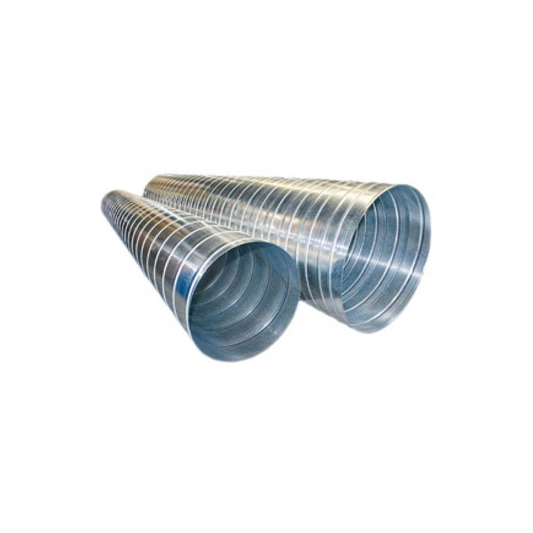 Irsap TLZ Condotto circolare spiroidale in lamiera zincata DN160, lunghezza 3 m  DLZTUB01600300