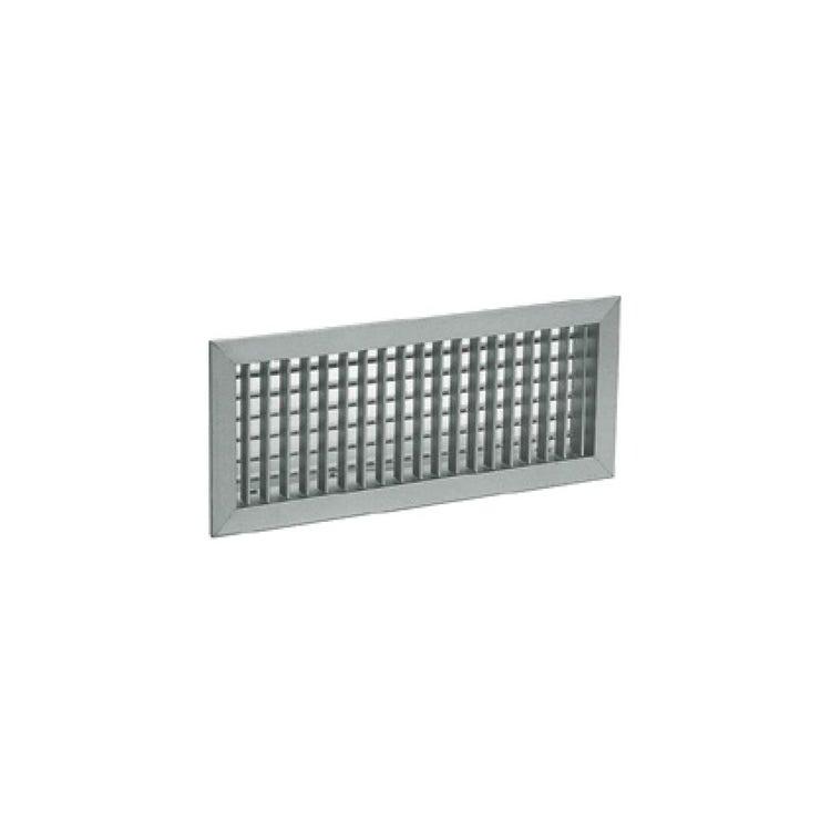 Irsap BMA Griglia 400x150 per bocchetta di mandata, in alluminio ad alette mobili regolabili singolarmente TALGRI04015A0
