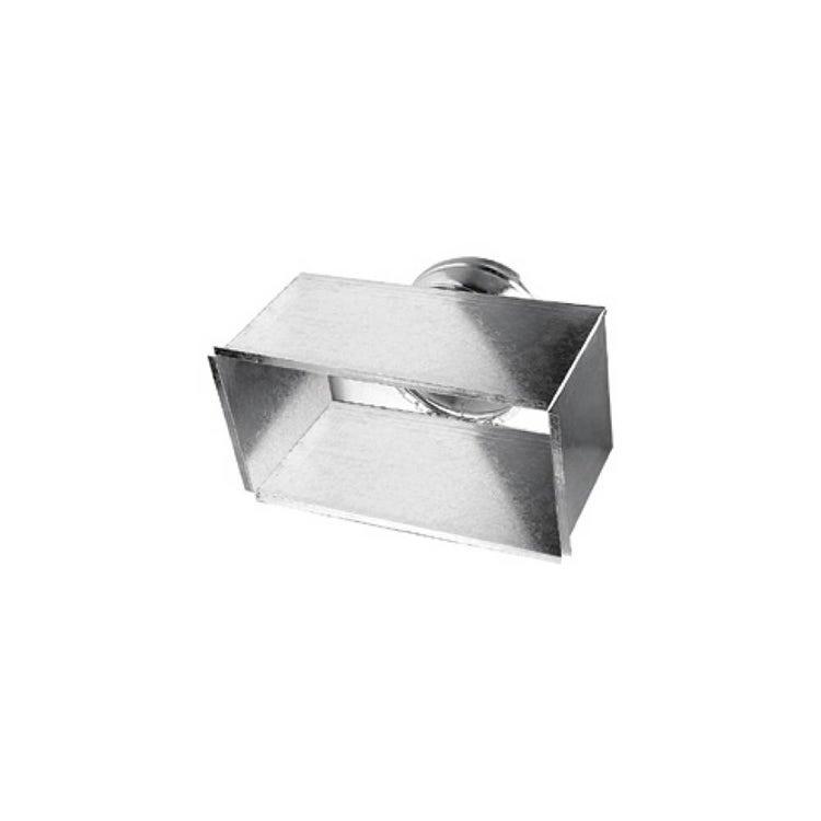Irsap Plenum zincato 300x100 con attacco posteriore per bocchetta di mandata BMA e ripresa GRA, adatto all'installazione di griglie TLZPLE03010P0