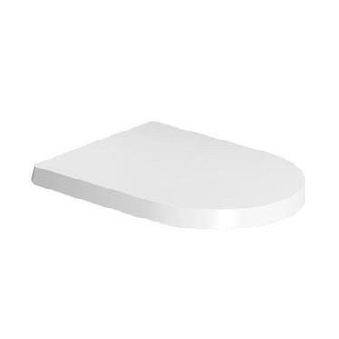 Duravit ME BY STARCK sedile con coperchio rimovibile, cerniere in acciaio inox e chiusura rallentata, colore bianco 0020090000