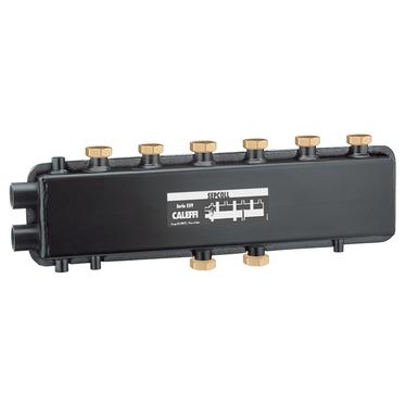Caleffi SEPCOLL Separatore idraulico-collettore per impianti di riscaldamento 3+1 559231