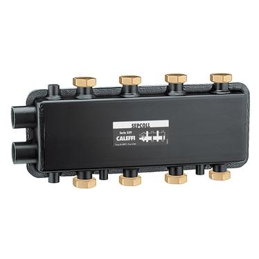 Caleffi SEPCOLL Separatore idraulico-collettore per impianti di riscaldamento 2+2 559222