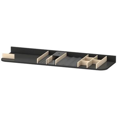 Duravit Inserto per cassetti sottolavabo per elementi di larghezza 130 cm, senza scasso per il sifone, finitura acero UV975307878