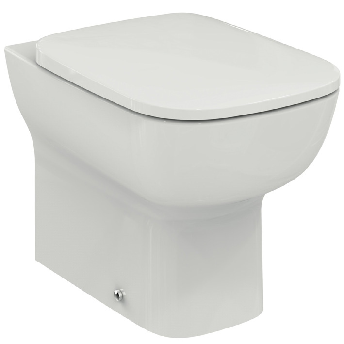 Ideal Standard T300801 Esedra Vaso A Pavimento Filo Parete Con Sedile Slim A Sgancio Rapido Colore Bianco Prezzi E Offerte Su Tavolla Com