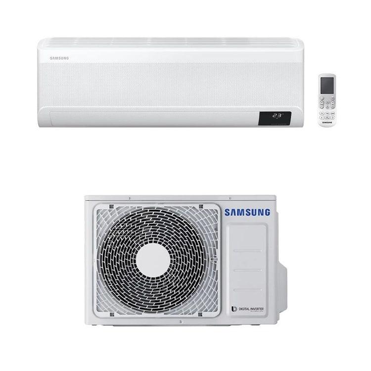 Samsung PARETE WINDFREE DELUXE R32 Climatizzatore a parete monosplit inverter | unità esterna 2.6 kW unità interna 9000 BTU AC026RXADKG/EU+AC026TNXDKG/EU