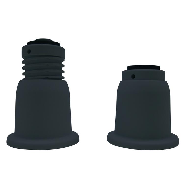 Immagine di Tecnogas Supporti a cono regolabili, per pavimento (4 pezzi) 11245