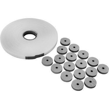 Duravit Set fonoassorbente per piatti doccia filo pavimento, colore bianco 791372000000000