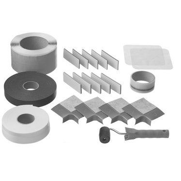 Duravit Kit di tenuta per incasso filo pavimento, colore bianco 792803000000000