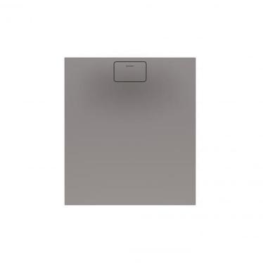 Duravit STONETTO piatto doccia rettangolare L.80 P.90 cm, colore grigio cemento 720145180000000