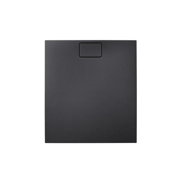 Duravit STONETTO piatto doccia rettangolare L.80 P.90 cm, colore antracite 720145680000000