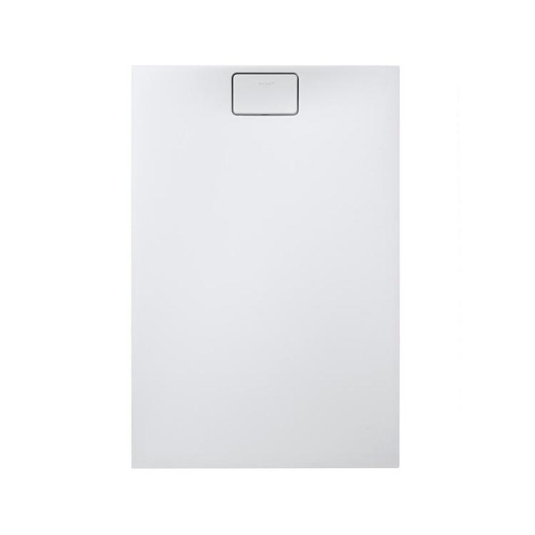 Duravit STONETTO piatto doccia rettangolare L.80 P.120 cm, colore bianco 720148380000000