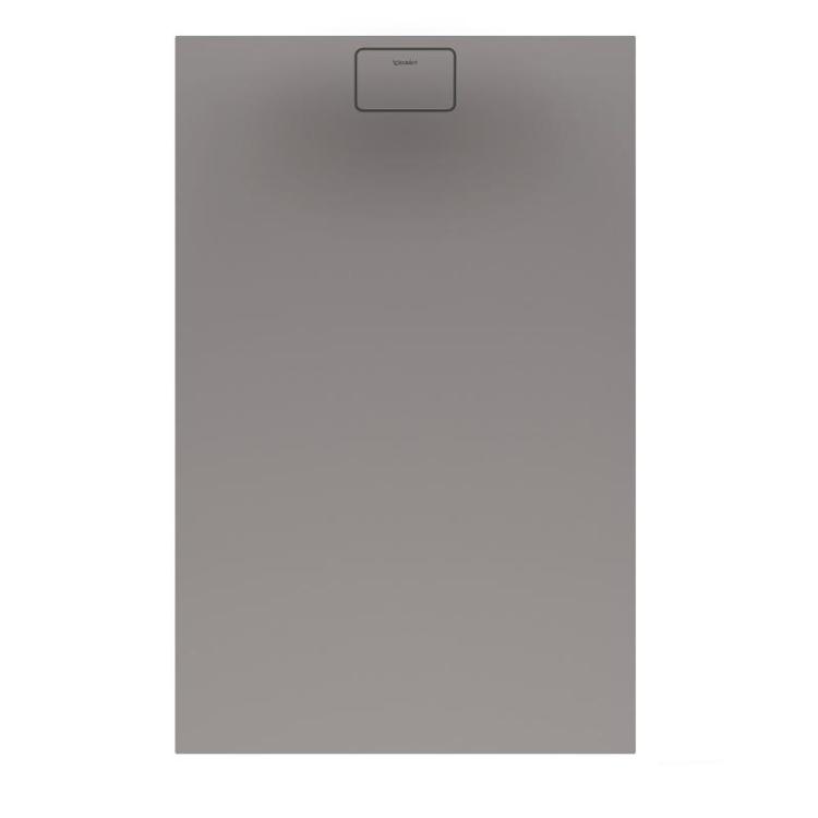 Duravit STONETTO piatto doccia rettangolare L.90 P.140 cm, colore grigio cemento 720150180000000