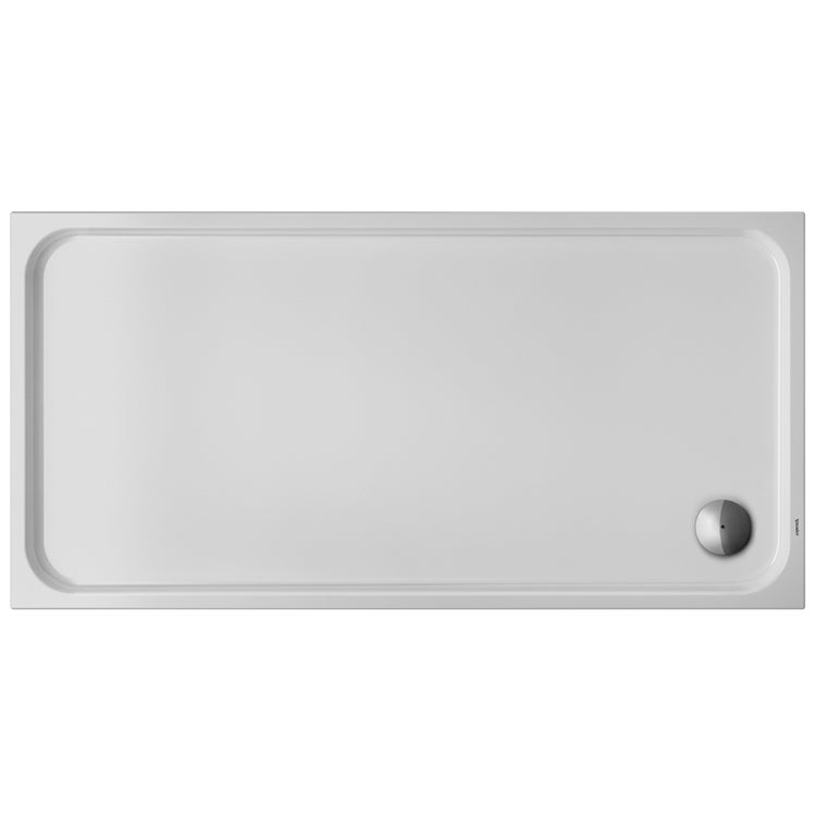 Immagine di Duravit D-CODE piatto doccia di forma rettangolare, L.180 P.90 cm, colore bianco 720165000000000