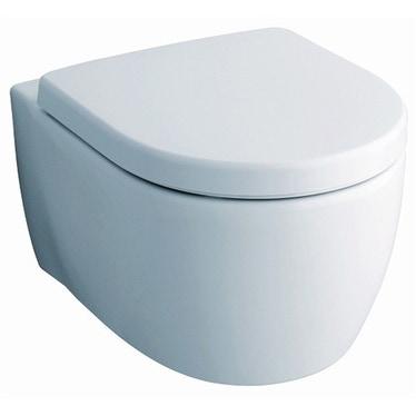 Pozzi Ginori Fast vaso sospeso completo di sedile con chiusura ammortizzata, bianco 78316000
