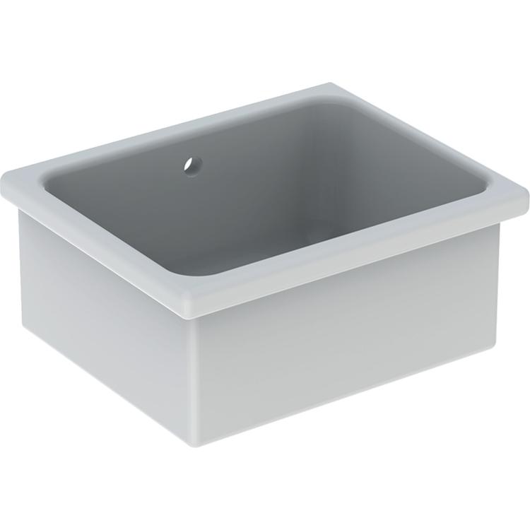 Geberit PUBLICA RUSCELLO lavatoio polivalente 60 cm, colore bianco finitura lucido 500.885.00.1
