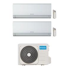 Immagine di Olimpia Splendid Nexya S4 E R32 Climatizzatore a parete dual split inverter Wi-Fi | unità esterna 4.1 kW unità interne 9000+9000 BTU OS-CEMYH14EI+2xOS-SENEH09EI