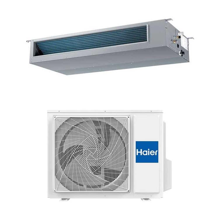 Haier CANALIZZATO Media pressione R32 Climatizzatore canalizzabile monosplit inverter | unità esterna 7.1 kW unità interna 24000 BTU 1U71S2SR2FA+AD71S2SM3FA