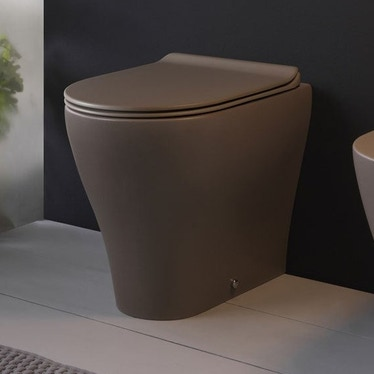 Flaminia APP vaso back to wall con sistema goclean®, colore fango finitura opaco AP117GFAN