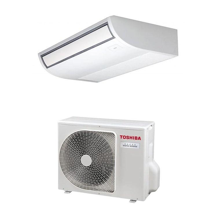 Toshiba SOFFITTO R32 Climatizzatore a soffitto monosplit inverter | unità esterna SUPER DIGITAL INVERTER 5 kW unità interna 18000 BTU RAV-GP561ATP-E+RAV-RM561CTP-E