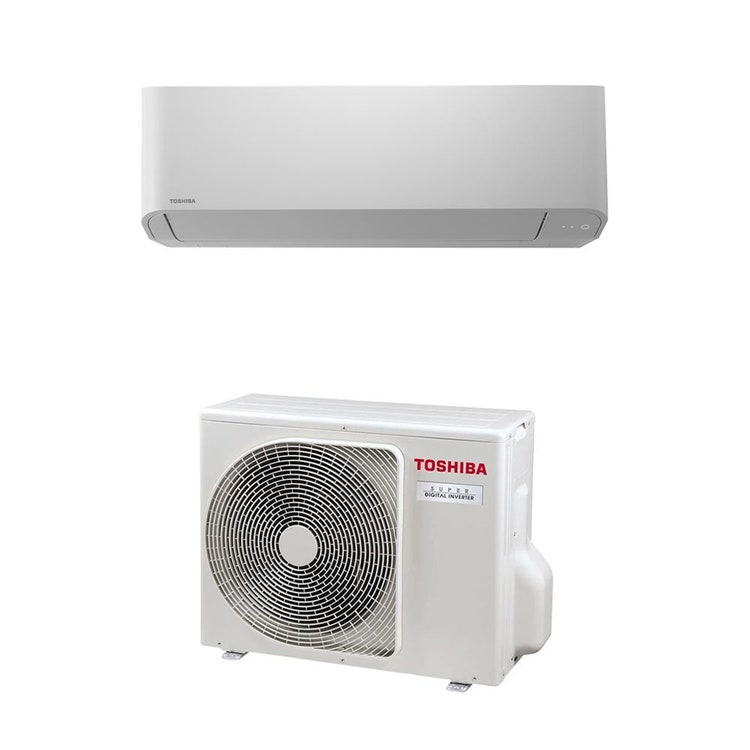 Toshiba PARETE R32 Climatizzatore a parete monosplit inverter   unità esterna SUPER DIGITAL INVERTER 5 kW unità interna 18000 BTU RAV-GP561ATP-E+RAV-RM561KRTP-E
