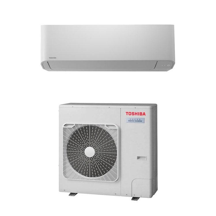 Toshiba PARETE R32 Climatizzatore a parete monosplit inverter | unità esterna SUPER DIGITAL INVERTER 7.1 kW unità interna 24000 BTU RAV-GP801AT-E+RAV-RM801KRTP-E