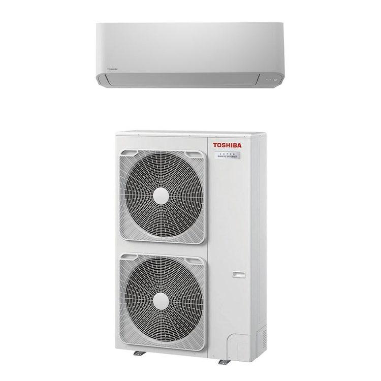 Toshiba PARETE R32 Climatizzatore a parete monosplit inverter | unità esterna SUPER DIGITAL INVERTER 10 kW unità interna 35000 BTU RAV-GP1101AT-E+RAV-GM1101KRTP-E