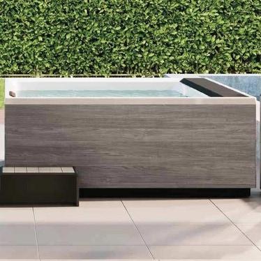 Novellini Pannello natural touch per vasca idromassaggio Divina L, finitura oak concrete PANV2F2LDIVDL-P2