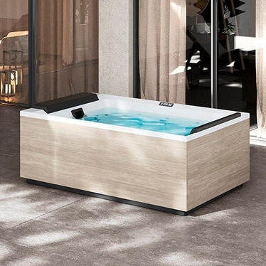 Novellini Pannello natural touch per vasca idromassaggio Divina L, finitura oak alpine PANV2F2LDIVDL-P1