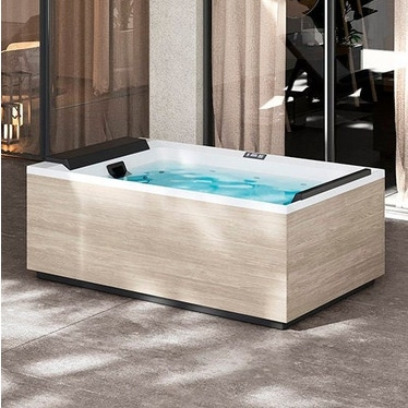 Novellini Pannello natural touch per vasca idromassaggio Divina M, finitura oak alpine PANV2F2LDIVDO-P1
