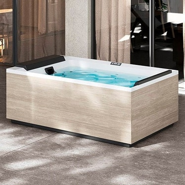 Novellini Pannello natural touch per vasca idromassaggio Divina XL, finitura oak alpine PANV2F2LDIVDX-P1