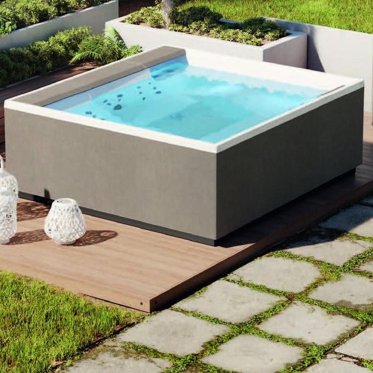Novellini Pannello natural touch per vasca idromassaggio Divina XL, finitura quarz PANV2F2LDIVDX-P4