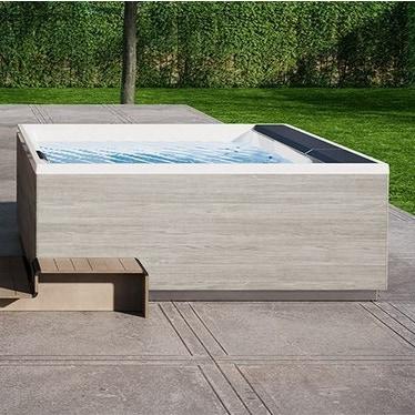 Novellini Pannello natural touch per vasca idromassaggio Divina XL, finitura ghiaccio PADV2F2LDIVDX-D2