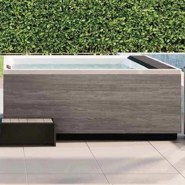 Novellini Pannello natural touch, per vasca idromassaggio Divina XXL, finitura oak concrete PANV2F2LDIVDXX-P2
