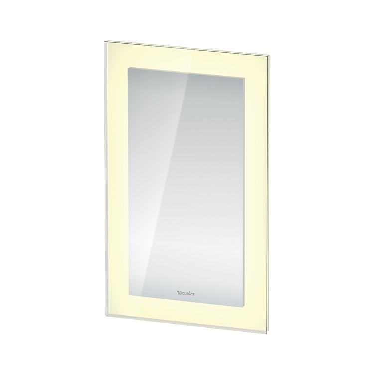 Duravit WHITE TULIP specchio con illuminazione L.45 H.75, versione App WT7060