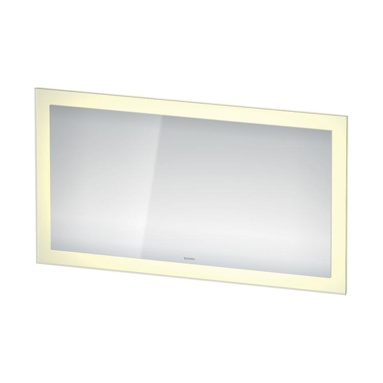 Duravit WHITE TULIP specchio con illuminazione L.135 H.75, versione Sensor WT7053