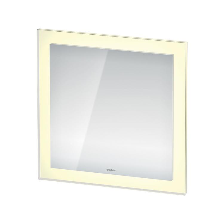 Duravit WHITE TULIP specchio con illuminazione L.75 H.75, versione App WT7061