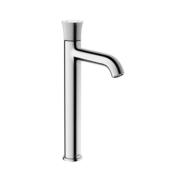 Duravit WHITE TULIP miscelatore monocomando H.31.7 cm, per lavabo XL, senza salterello, finitura cromo WT1040002010