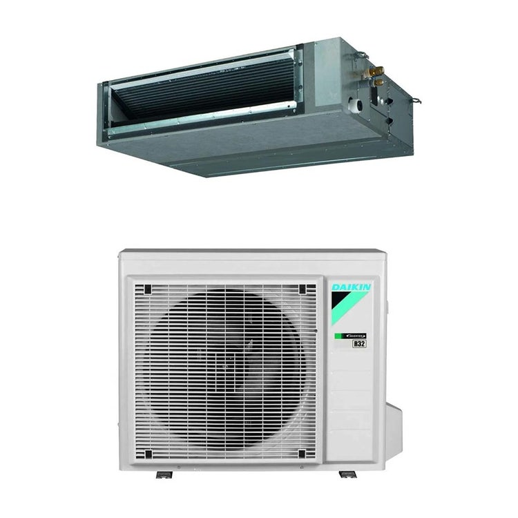 Daikin FBA-A9 Canalizzabile media prevalenza R32 Climatizzatore canalizzabile monosplit inverter | unità esterna 5.7 kW unità interna 21000 BTU RXM60R+FBA60A9
