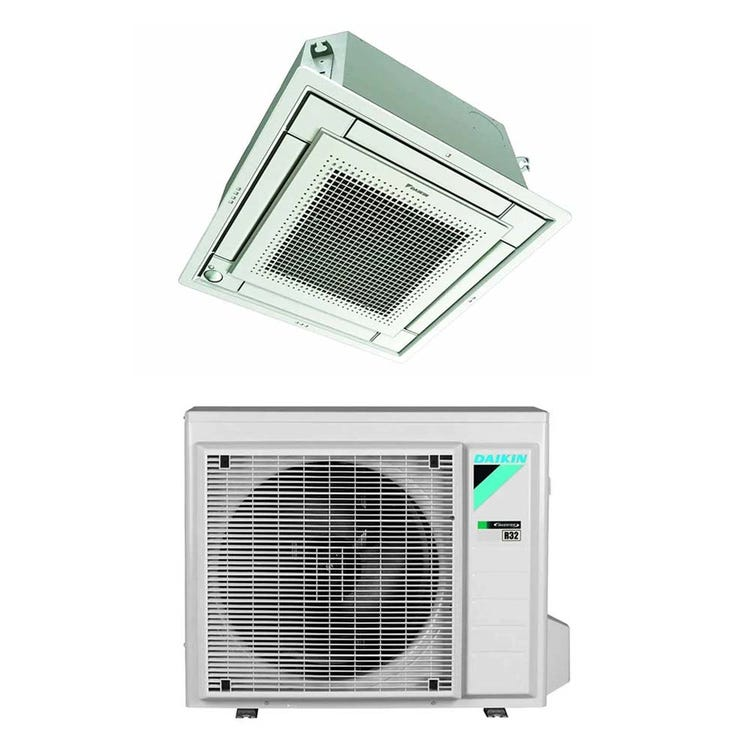 Daikin FFA-A9 Cassetta 4 vie R32 Climatizzatore a cassetta monosplit inverter | unità esterna 5 kW unità interna 18000 BTU RXM50R+FFA50A9