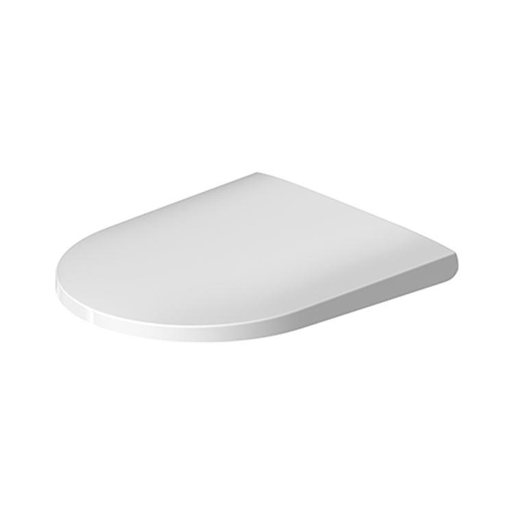 Duravit D-NEO sedile con coperchio, con cerniere in acciaio inox e chiusura rallentata, colore bianco 0021690000