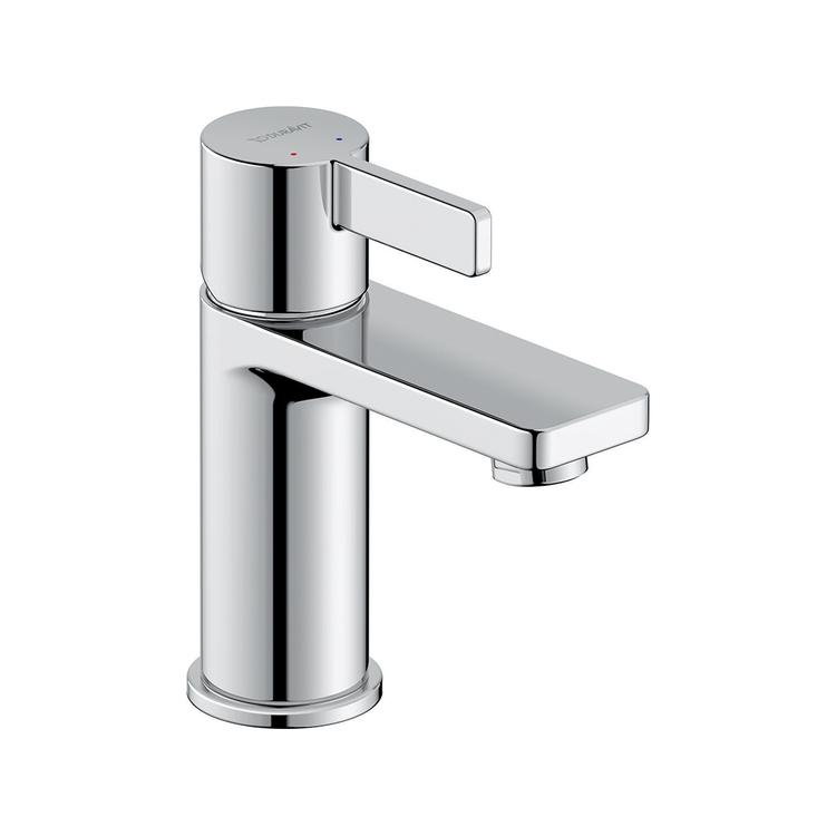 Duravit D-NEO miscelatore monocomando H.15.1 cm, per lavabo S, senza salterello, finitura cromo DE1010002010
