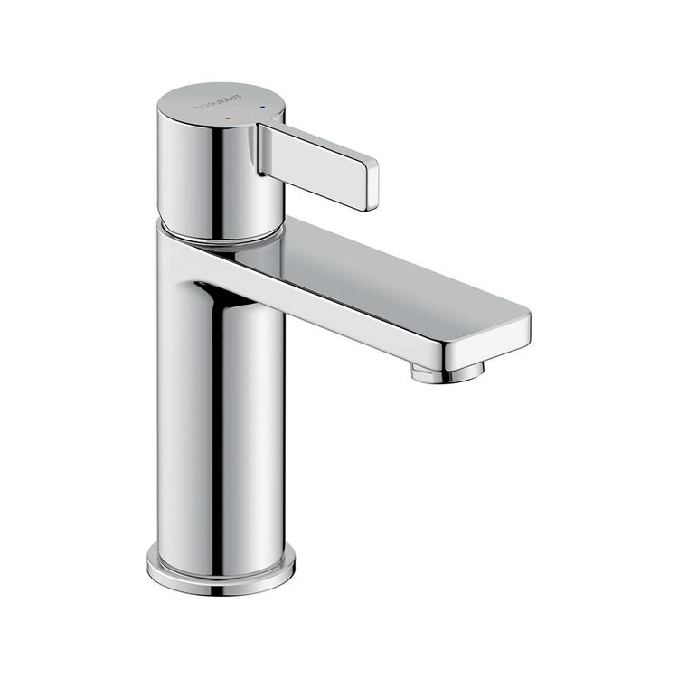 Duravit D-NEO miscelatore monocomando H.16.5 cm, per lavabo M, senza salterello, finitura cromo DE1020002010